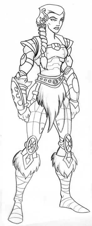 Free samurai warrior coloring pages