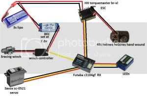 wiring diagram for crawler with winch,led, and more