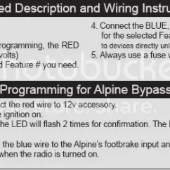 Pioneer Tr7 Wiring Ford Hei Distributor Diagram Pac Tr 7 Installation With Alpine Processor Car Audio This Image Has Been Resized Click Bar To View The Full Original Is Sized 1 2