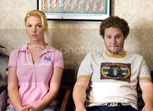 Katherine Heigl and Seth Rogen enthuse over having a baby