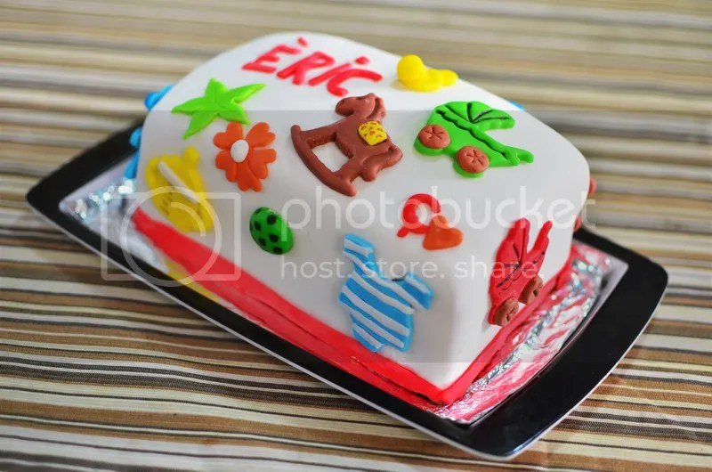 photo sugar cake fondant decoration