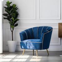 Modern fancy design living room furniture single seat sofa ...