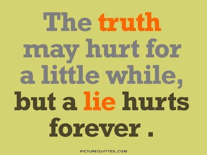 Quotes About Telling Truth Someone You Love