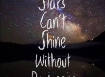 Stars can't shine without darkness | Picture Number 1