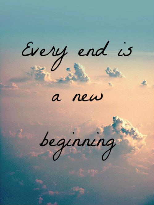 every end is a new beginning quote 3jpg