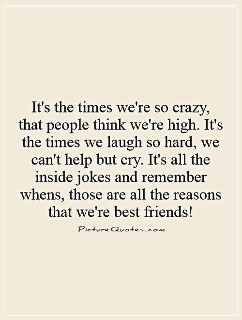 We Laughed We Cried Quote