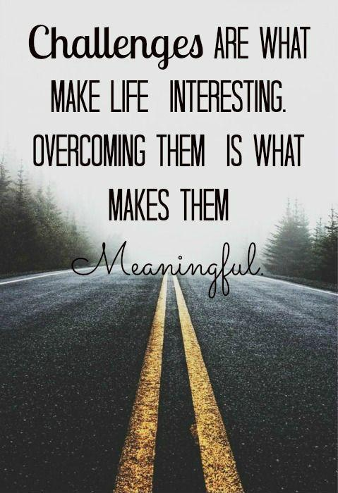 Life Obstacle Quotes : obstacle, quotes, Overcoming, Quotes, Sayings, Picture