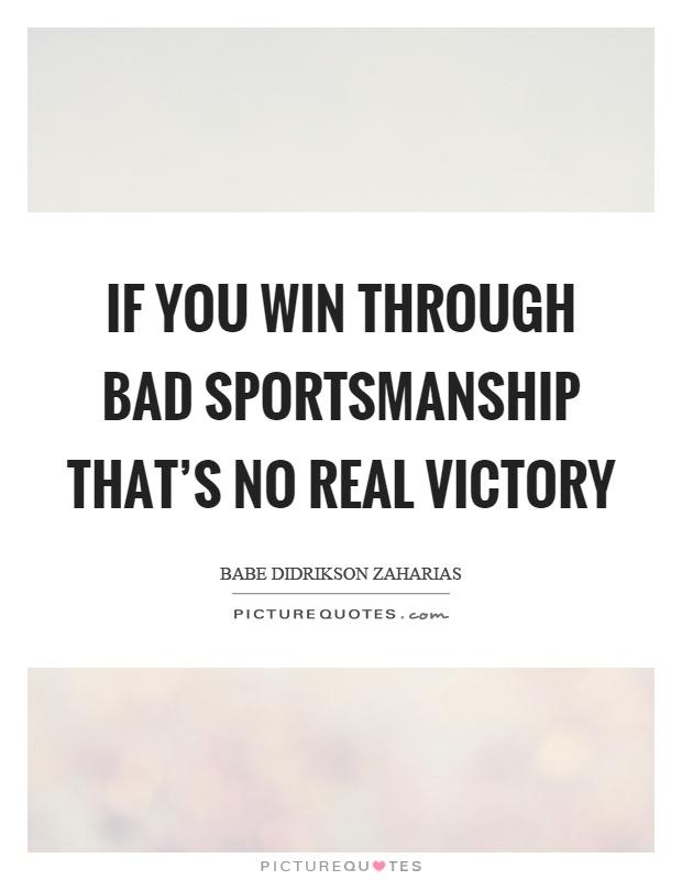 Quotations About Sportsmanship : quotations, about, sportsmanship, Sportsmanship, Quotes, Sayings, Picture