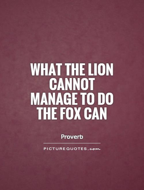Fox Quotes Fox Sayings Fox Picture Quotes