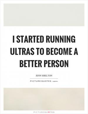 I'm trying to be a better person | Picture Quotes