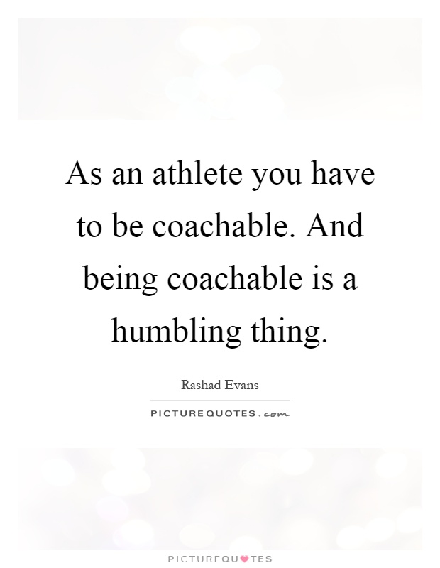 Quotes About Being Coachable