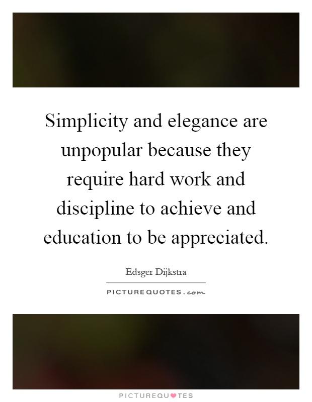 Elegance Quote Simplicity