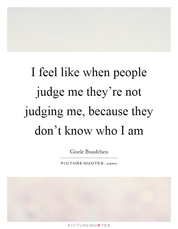 Judge Me Won I And Judge T Dont You Praying