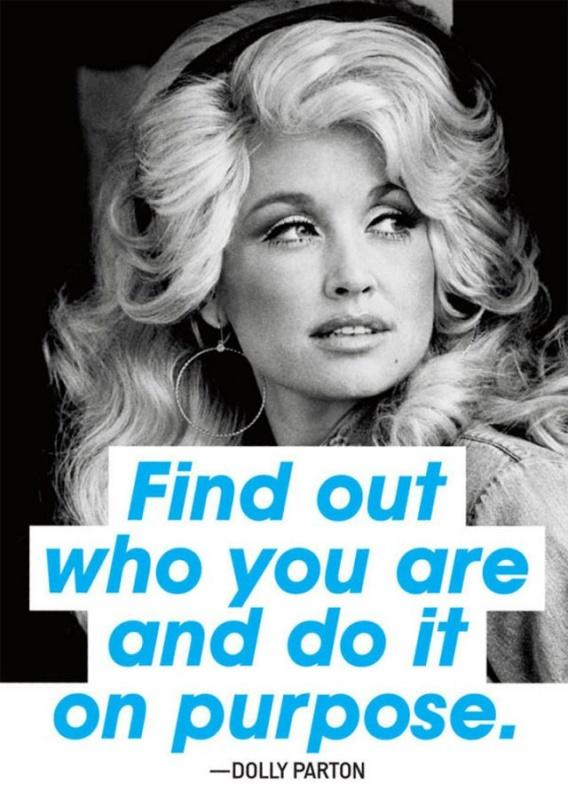 Find out who you are and do it on purpose   Picture Quotes