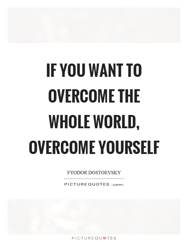 Image result for overcome yourself