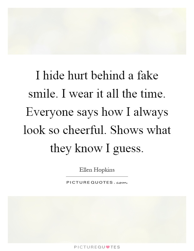 Hurting Inside Quotes Smiling