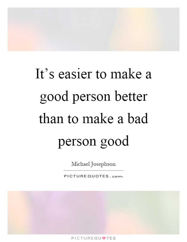 Being Bad Person Quotes