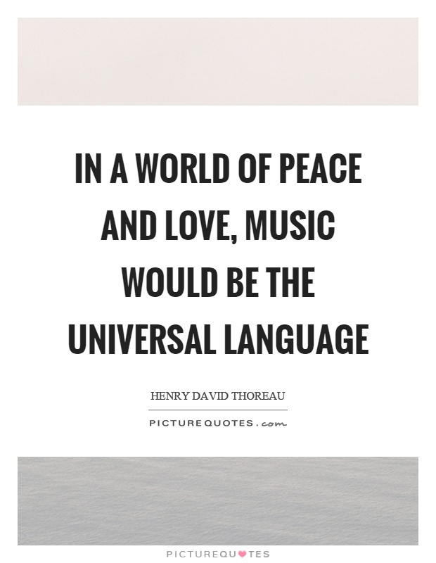 Love World Quotes Peace And
