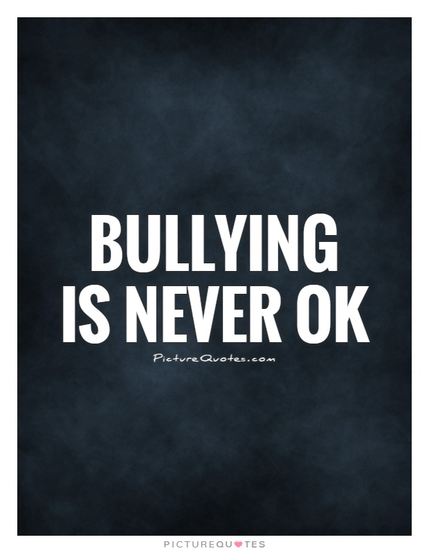Bullying Qoutes : bullying, qoutes, Bullying, Never, Picture, Quotes