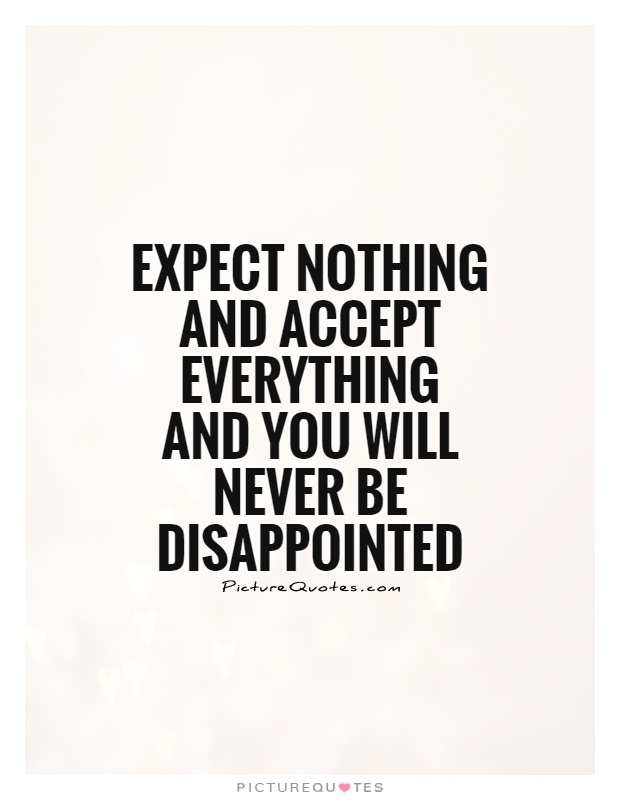 Quotes You Will Never Disappoint. QuotesGram