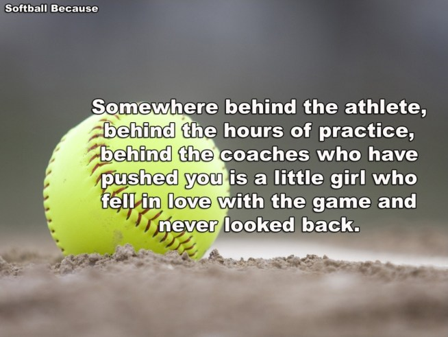 softball quote 1 - Softball Quotes for team With Images