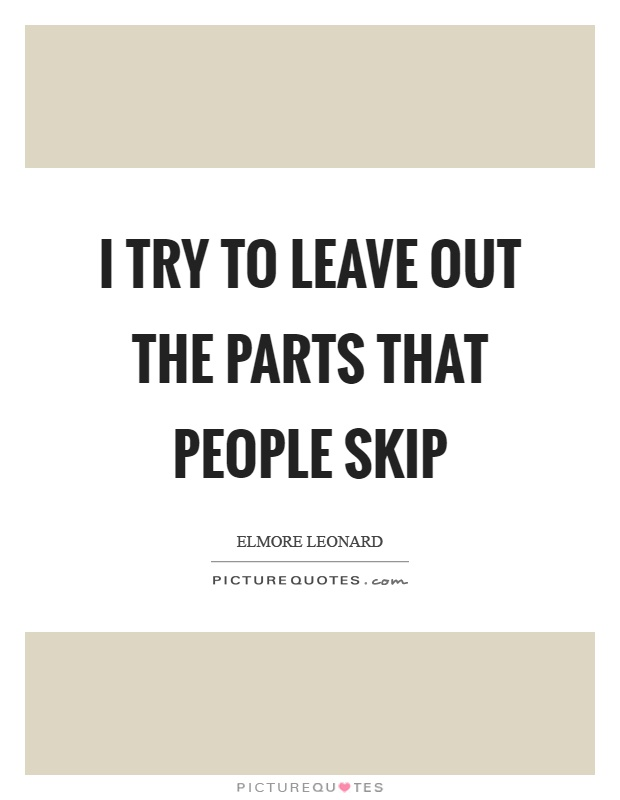 Skip Quotes | Skip Sayings | Skip Picture Quotes