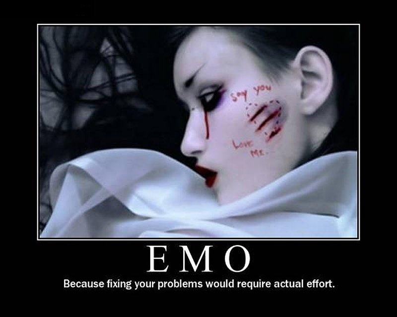 Funny Emo Quote  Quote Number 591058  Picture Quotes