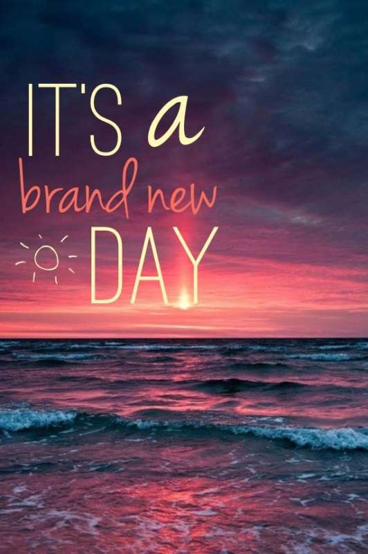 Today's A New Day Quote : today's, quote, Brand, Quote, Number, 606347, Picture, Quotes