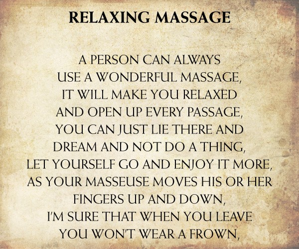 Massage Quotes  Massage Sayings  Massage Picture Quotes