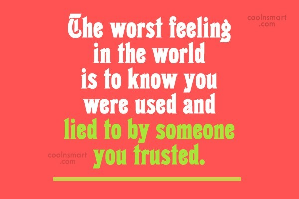 Feeling Used Quotes Sayings And