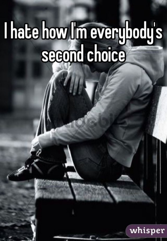 Second Choice Quotes : second, choice, quotes, Second, Choice, Quote, Number, 668444, Picture, Quotes