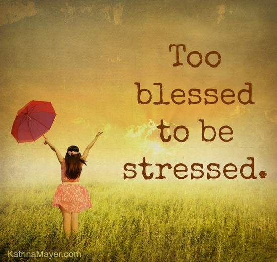 Image result for Stressed blessed