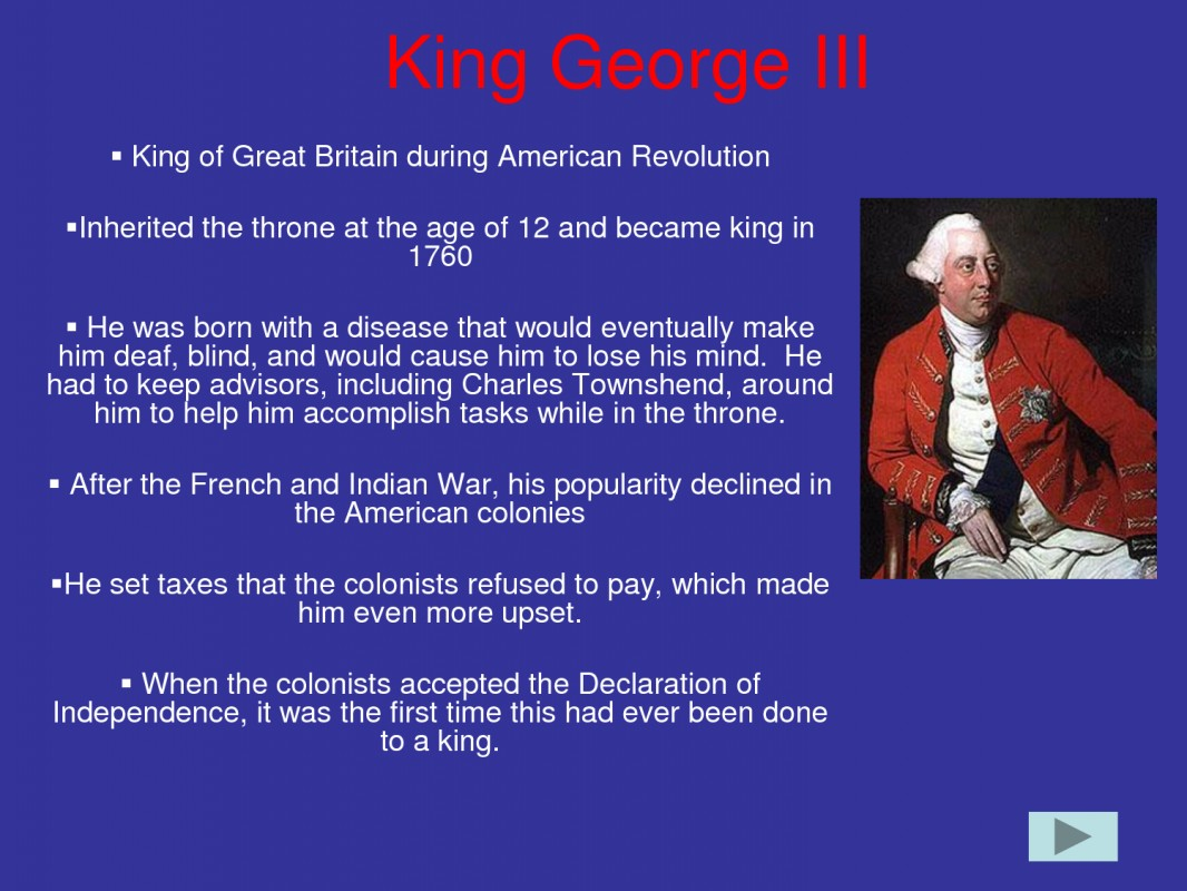 Revolutionary War Quotes King George Iii Quotes About American Revolution Picture