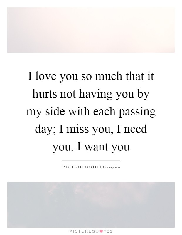 I Love You So Much It Hurts Image | Wallpaper Images