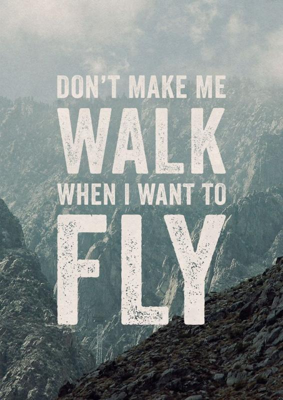 Comfort Zone Motivational Quotes Wallpaper Don T Make Me Walk When I Want To Fly Picture Quotes