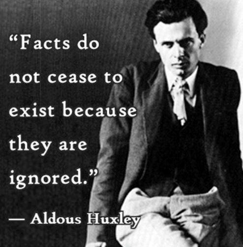 Image result for aldous huxley quote