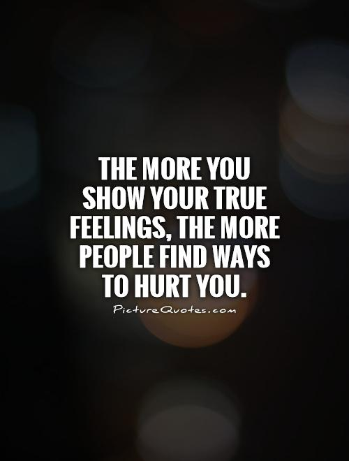Feelings Quotes Hurting