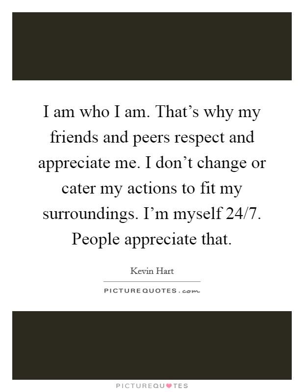 i am who i
