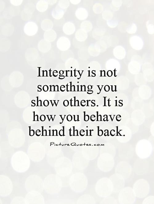 Quotes Integrity Importance. QuotesGram