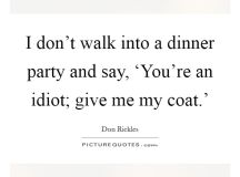 Dinner Party Quotes & Sayings | Dinner Party Picture Quotes