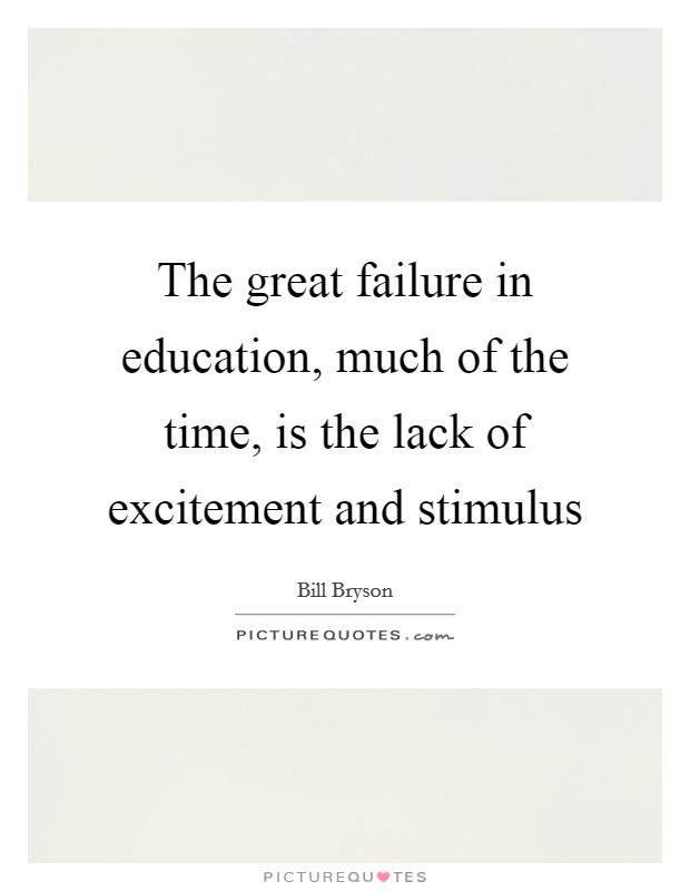 Education Quotes Lack