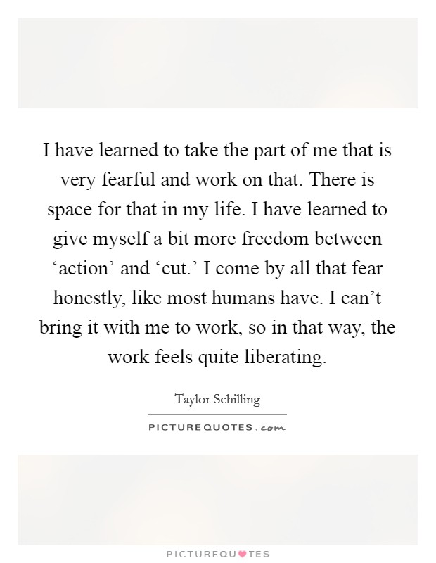 Giving Someone Space Quotes : giving, someone, space, quotes, Learned, Fearful, And..., Picture, Quotes