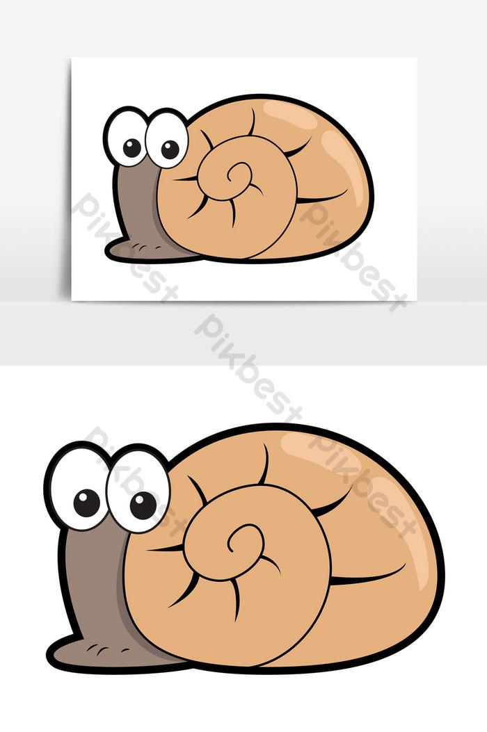 Gambar Siput Kartun : gambar, siput, kartun, Gambar, Kartun, Siput, Elemen, Grafik, Percuma, Turun, Pikbest