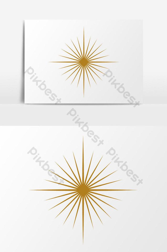 Matahari Logo Png : matahari, Burst, Vector, Graphic, Element, Images, Download, Pikbest