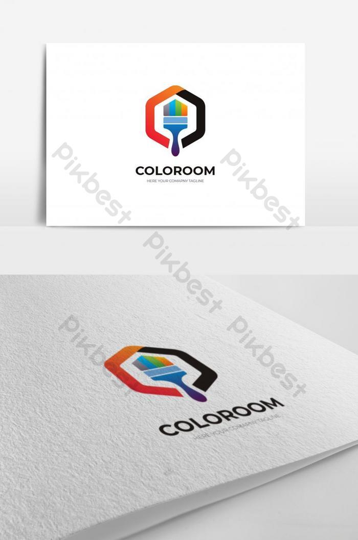 Free Painting Logos Download : painting, logos, download, Creative, Painting, Design, Download, Pikbest