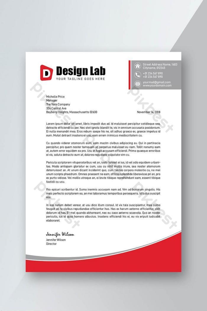 Download Contoh Kop Surat Perusahaan : download, contoh, surat, perusahaan, Corporate, Elegant, Letterhead, Template, Download, Pikbest