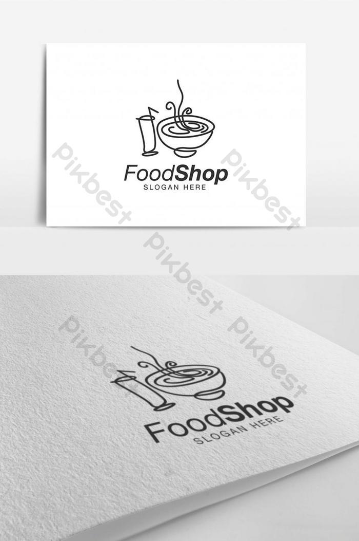 Gambar Logo Makanan : gambar, makanan, Drink, Burger, Design, Template, Inspiration, Download, Pikbest