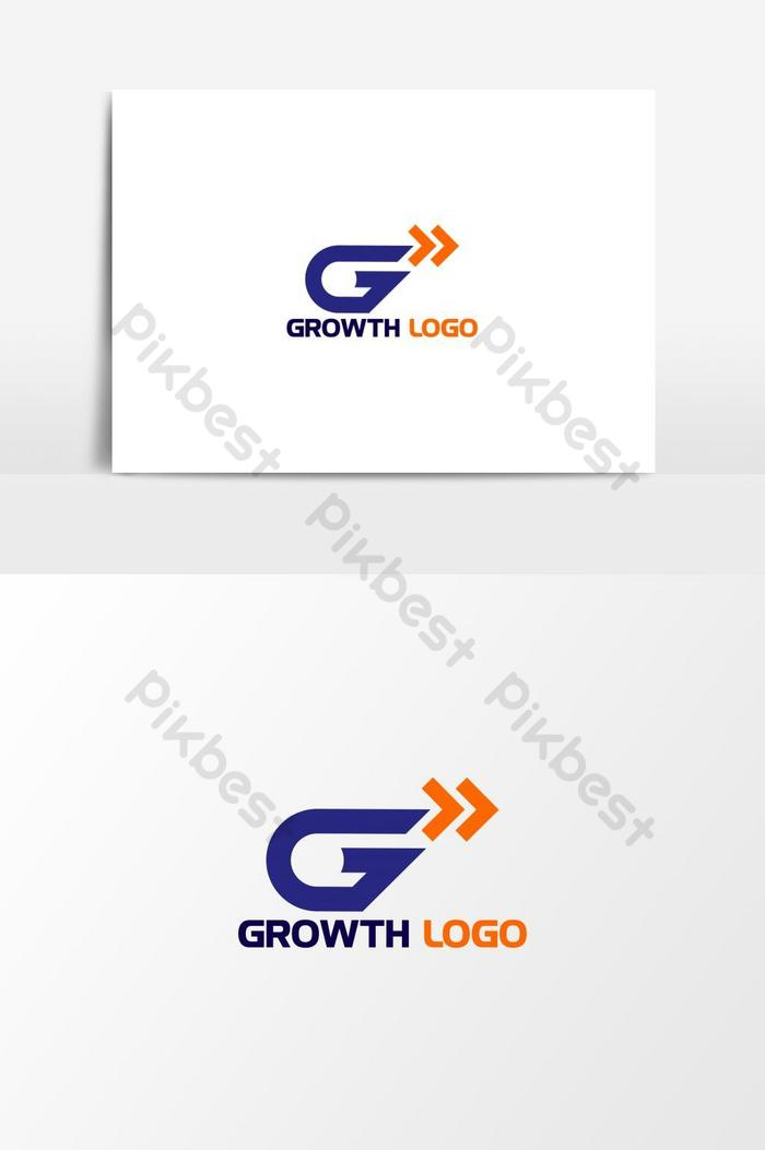Logo Huruf G : huruf, Stylish, Letter,Growth, Design, Vector, Graphic, Element, Images, Download, Pikbest