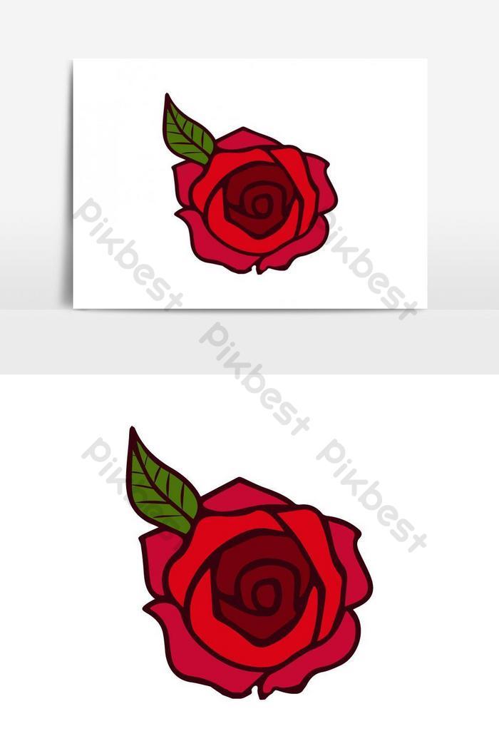 Mawar Logo : mawar, Valentine, Petal, Vector, Design, Images, Download, Pikbest