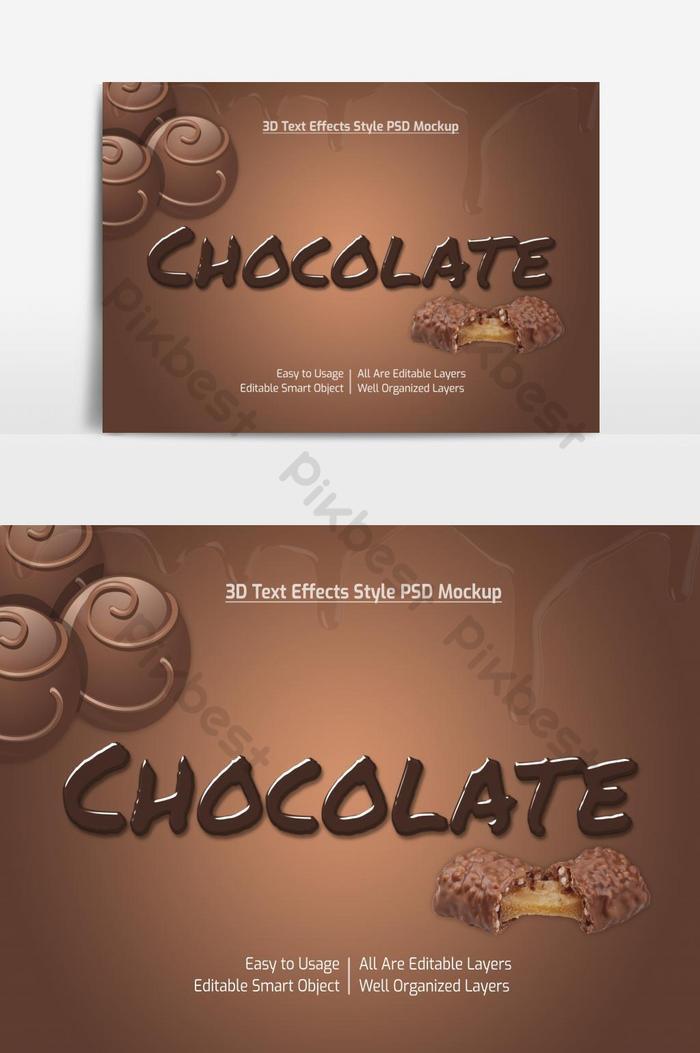 Efek Tulisan Photoshop Keren : tulisan, photoshop, keren, Coklat, Keren, Mockup, Premium, Elemen, Grafis, Templat, Unduhan, Gratis, Pikbest